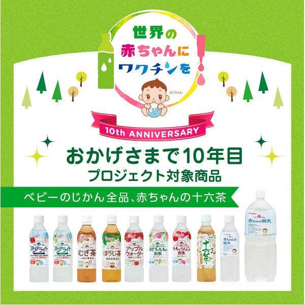 和光堂 ベビーのじかん アクアライト 白ぶどう ペットボトル 500mlx24本の商品画像 4