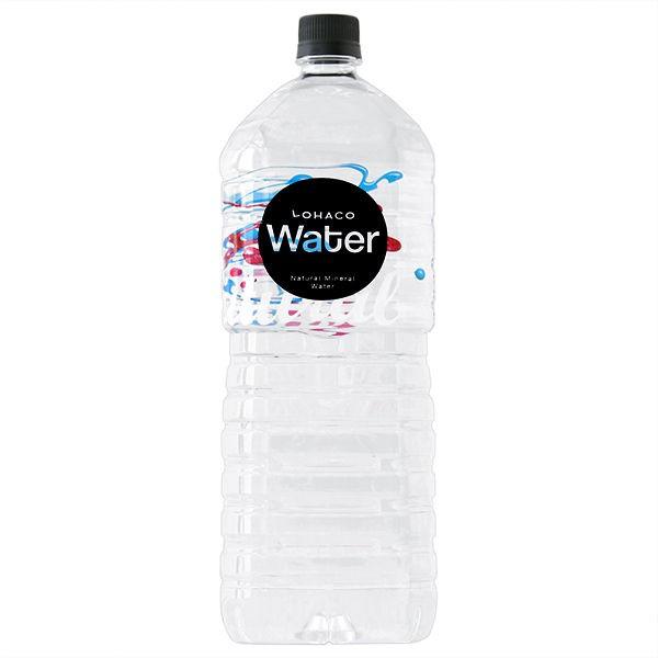水・ミネラルウォーター LOHACO Water 2L 1箱(5本入)