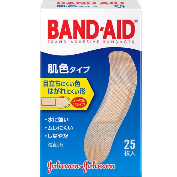 ジョンソン・エンド・ジョンソン バンドエイド 肌色タイプ スタンダードサイズ 25枚入の商品画像 2