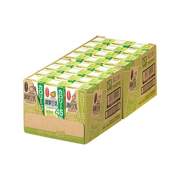 マルサンアイ 調製豆乳 カロリー45%オフ 200ml 紙パック 1ケース(24本)の商品画像|2