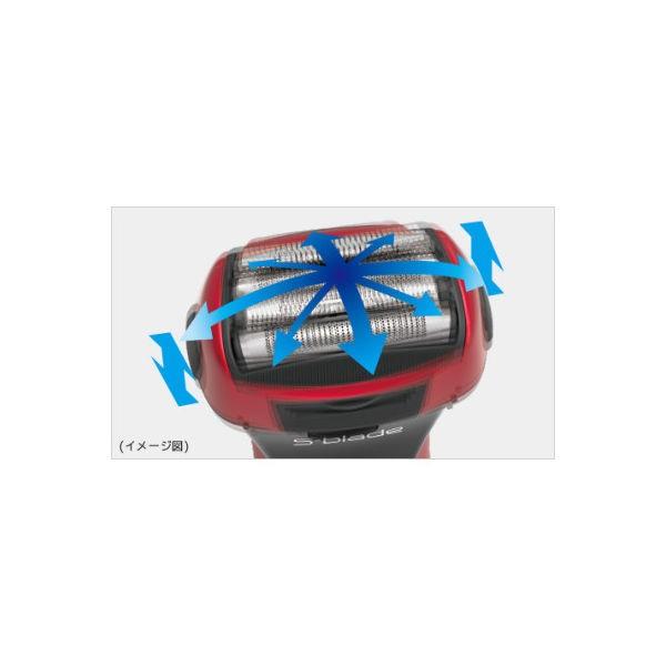 日立 エスブレード RM-LF463(R) [往復式 4枚刃 水洗い可 お風呂剃り可 充電・交流式 海外対応]の商品画像 3