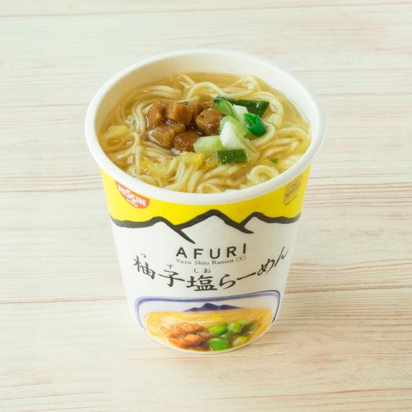日清 THE NOODLE TOKYO AFURI 柚子塩らーめん mini 35g×12個の商品画像|ナビ