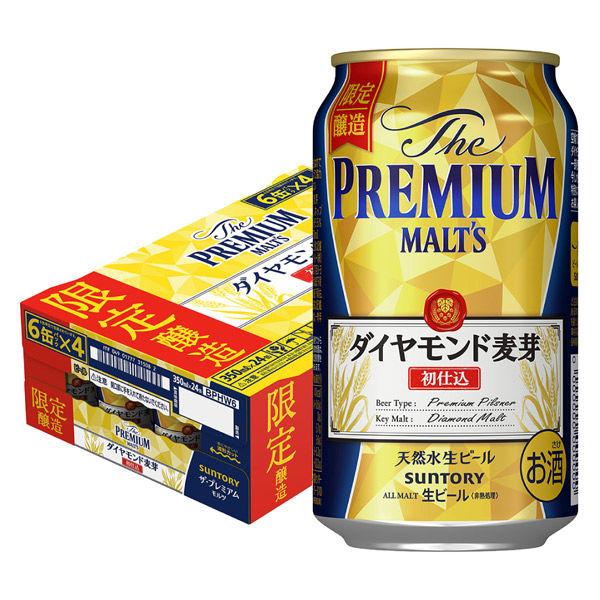 サントリー ザ・プレミアムモルツ 初仕込 350ml缶 1ケース(24本)の商品画像 ナビ