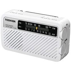 東芝 ワイドFM対応 FM/AM 手回し充電ラジオ TY-JKR5W