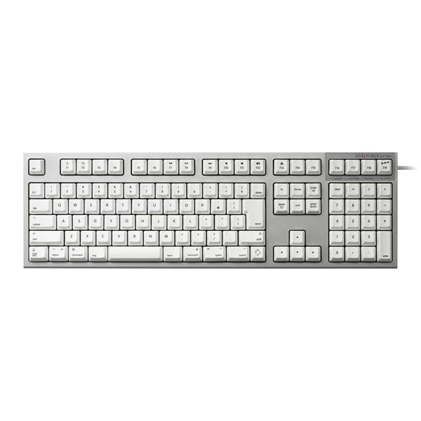 REALFORCE SA for Mac R2SA-JP3M-WH (ホワイト)の商品画像|2