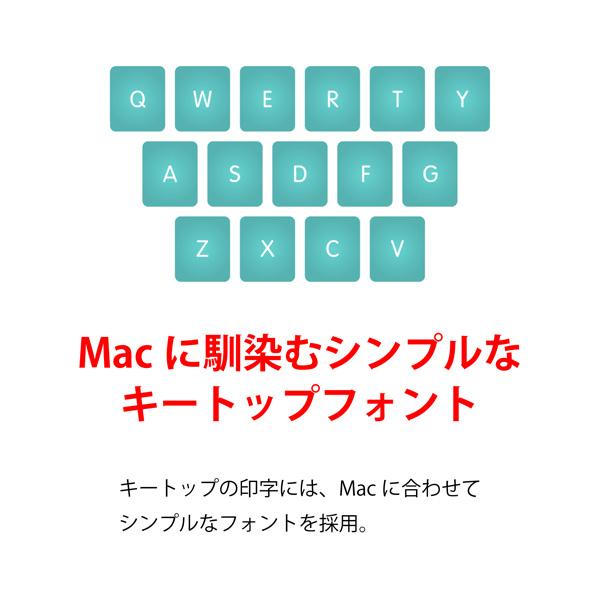 REALFORCE SA for Mac R2SA-JP3M-WH (ホワイト)の商品画像|4