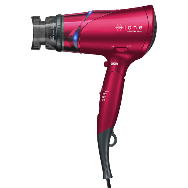 マイナスイオンヘアードライヤー TID930-P (スパークルピンク)の商品画像|3