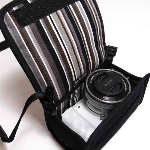 スオーノ α5100 /α5000ケース(パワーズームレンズキット用)AL5-101(ブラック・アルバグレイ)の商品画像|3