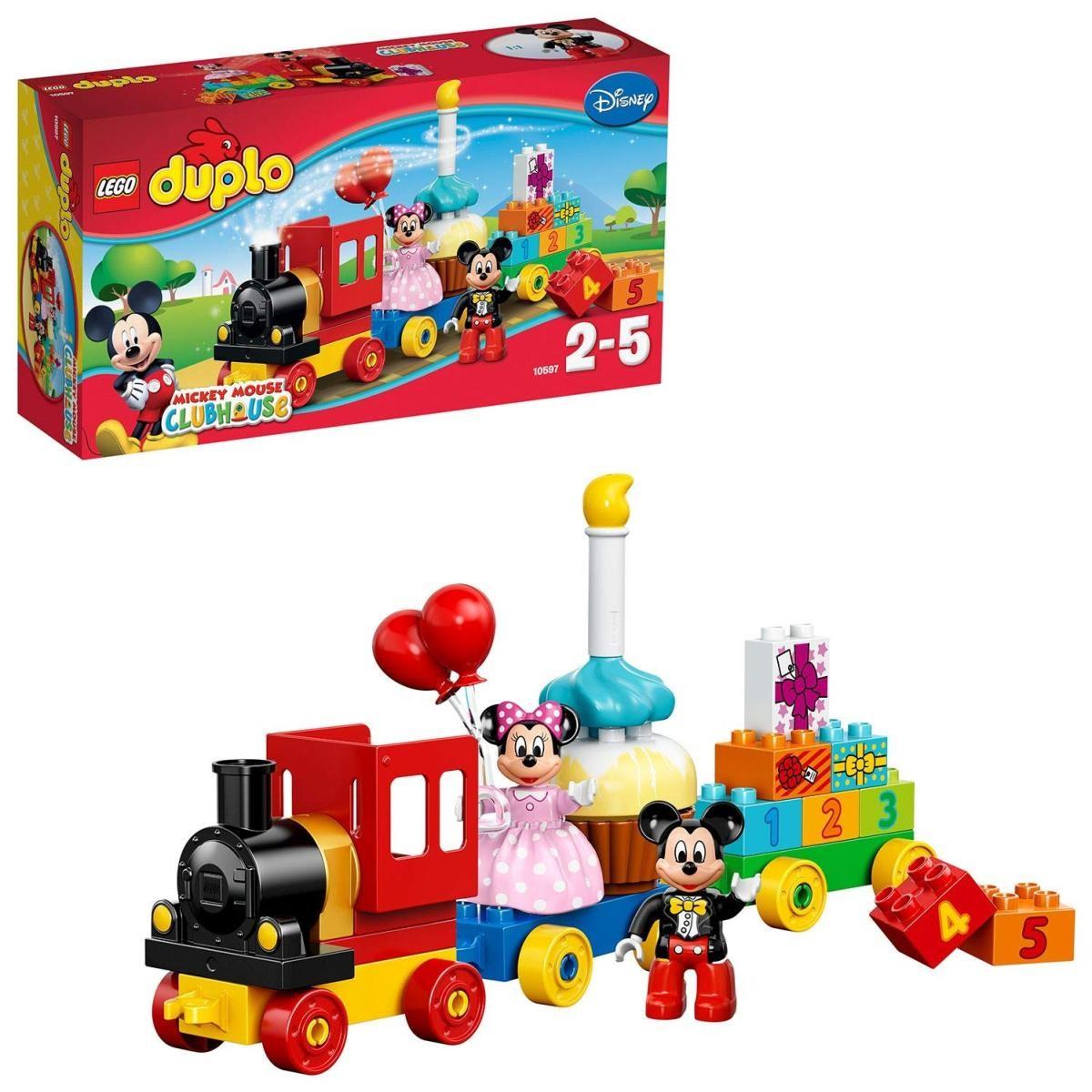 レゴ 10597 ミッキーとミニーのバースデーパレードの商品画像|ナビ