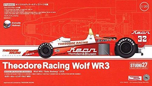 STUDIO27 Theodore Racing Wolf WR3 (1/20スケール ST27-TRK001)の商品画像|ナビ