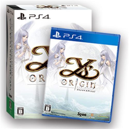 【PS4】 イース・オリジン スペシャルエディションの商品画像 ナビ