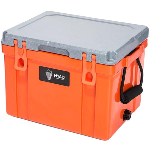 HYAD クーラーボックス 27QT (ブラッドオレンジ)の商品画像|ナビ