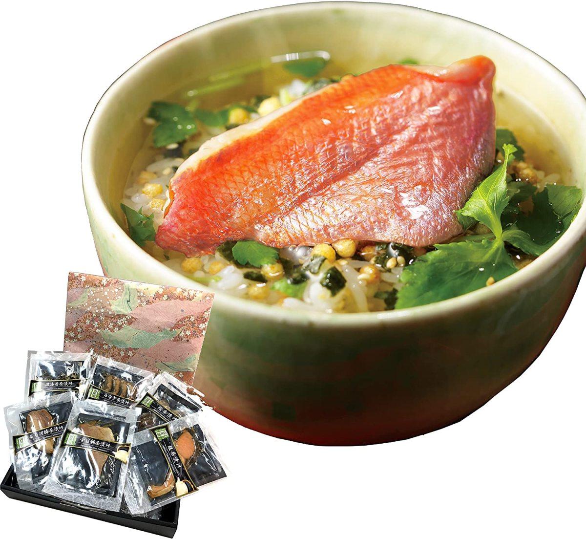 山年園 高級お茶漬けセット 6種類 × 1個の商品画像|2
