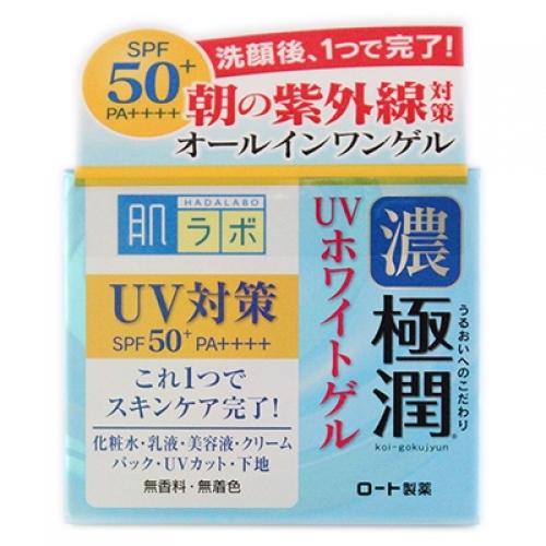 ロート製薬 肌ラボ 肌研 極潤 UVホワイトゲル SPF50+ PA++++ 90gの商品画像