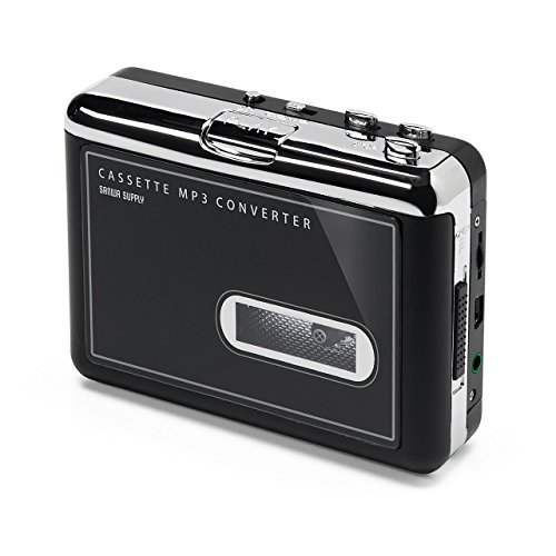 サンワサプライ MP3変換でデジタル化できるカセットテーププレーヤー 400-MEDI002の商品画像|ナビ