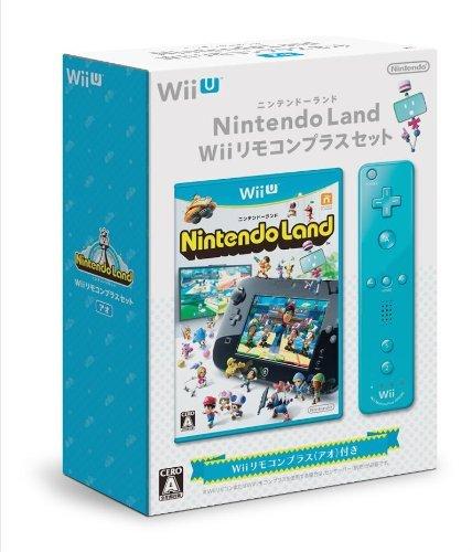 任天堂 Wii U Nintendo Land Wiiリモコンプラスセット アオの商品画像 ナビ