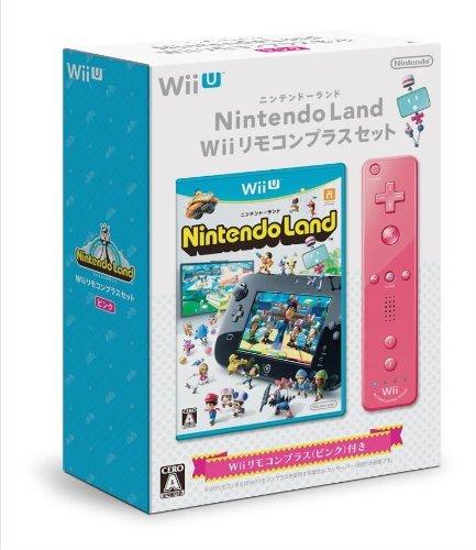 任天堂 Wii U Nintendo Land Wiiリモコンプラスセット ピンクの商品画像 ナビ