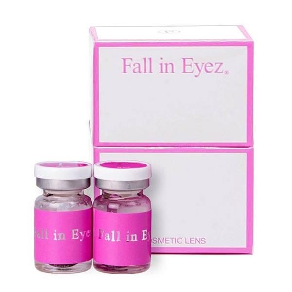 DESTINY INTERNATIONAL株式会社 Fall in Eyez(フォーリンアイズ)プレミアム マンスリー サクラピンク(ブラック) 2枚入り 1箱の商品画像|2