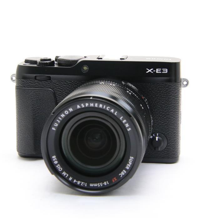 富士フイルム Xシリーズ FUJIFILM X-E3 XF18-55mmF2.8-4 R LM OIS レンズキット(ブラック)の商品画像|3