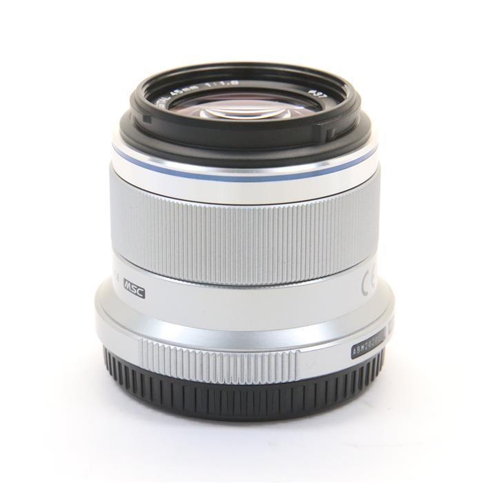 オリンパス Mズイコーデジタル M.ZUIKO DIGITAL 45mm F1.8(シルバー)の商品画像|2