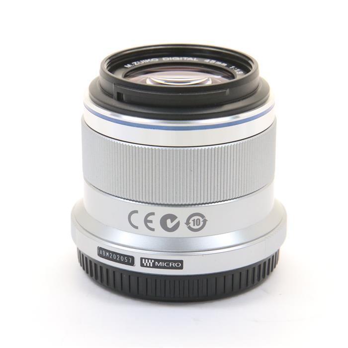 オリンパス Mズイコーデジタル M.ZUIKO DIGITAL 45mm F1.8(シルバー)の商品画像|3