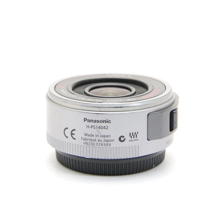 パナソニック ルミックスG LUMIX G X VARIO PZ 14-42mm/F3.5-5.6 ASPH./ POWER O.I.S. H-PS14042-S(シルバー)の商品画像|3