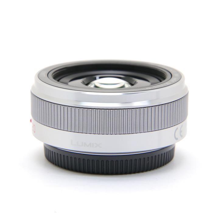 パナソニック ルミックスG LUMIX G 20mm F1.7 II ASPH. H-H020A-S(シルバー)の商品画像|2
