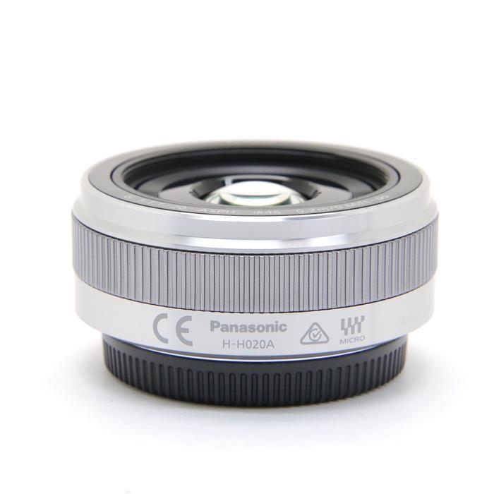 パナソニック ルミックスG LUMIX G 20mm F1.7 II ASPH. H-H020A-S(シルバー)の商品画像|3