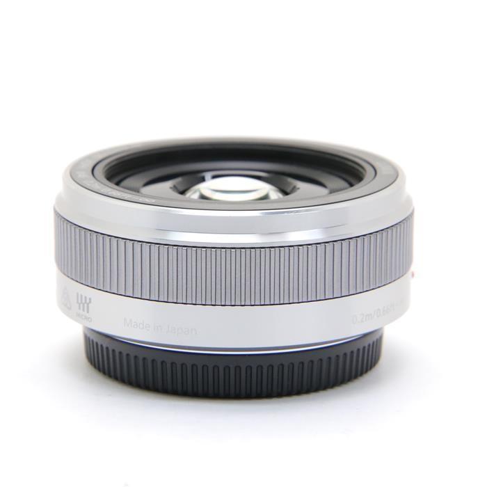 パナソニック ルミックスG LUMIX G 20mm F1.7 II ASPH. H-H020A-S(シルバー)の商品画像|4