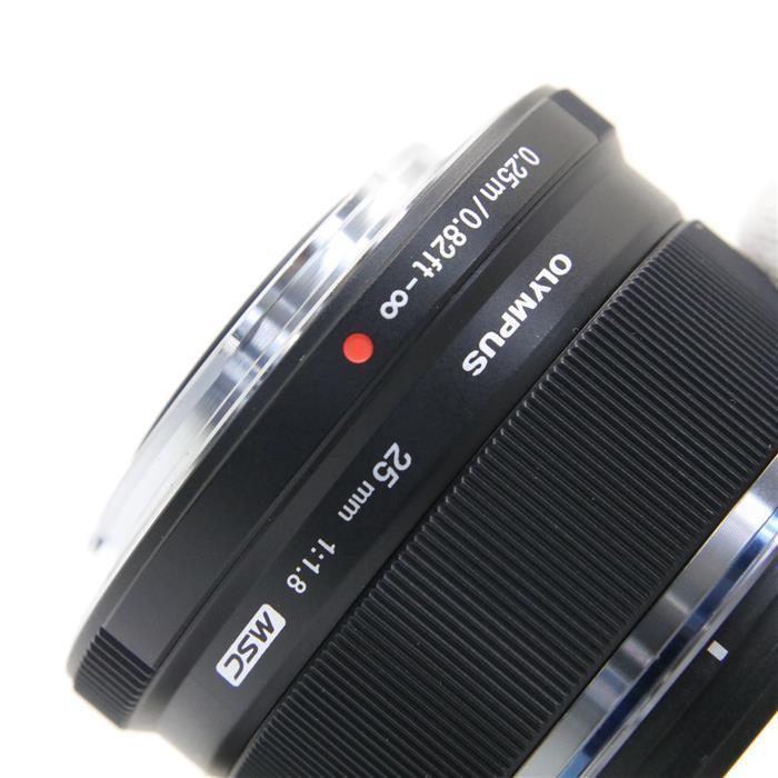 オリンパス Mズイコーデジタル M.ZUIKO DIGITAL 25mm F1.8(ブラック)の商品画像|3