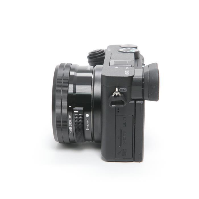 ソニー アルファα6400 パワーズームレンズキットILCE-6400L/B (ブラック)の商品画像|4