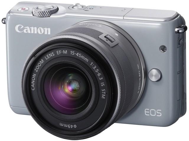 キヤノン EOS M10 ダブルズームキット(グレー)の商品画像|4