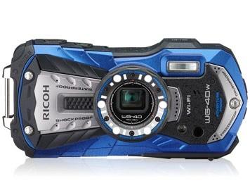 リコー RICOH WG-40W(ブルー)の商品画像 2