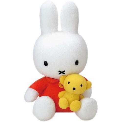 ミッフィー ぬいぐるみ (クマちゃん抱きミッフィー) 661336の商品画像|ナビ