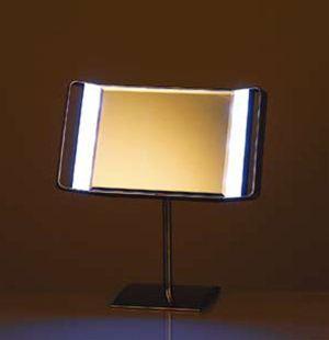 DULTON ダルトン ミラー、鏡 フェイスミラー スタンドミラー ミラー LED ミラースタンド S85493 L.E.D mirror stand 1