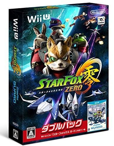 【Wii U】任天堂 スターフォックス ゼロ・スターフォックス ガード ダブルパックの商品画像|ナビ