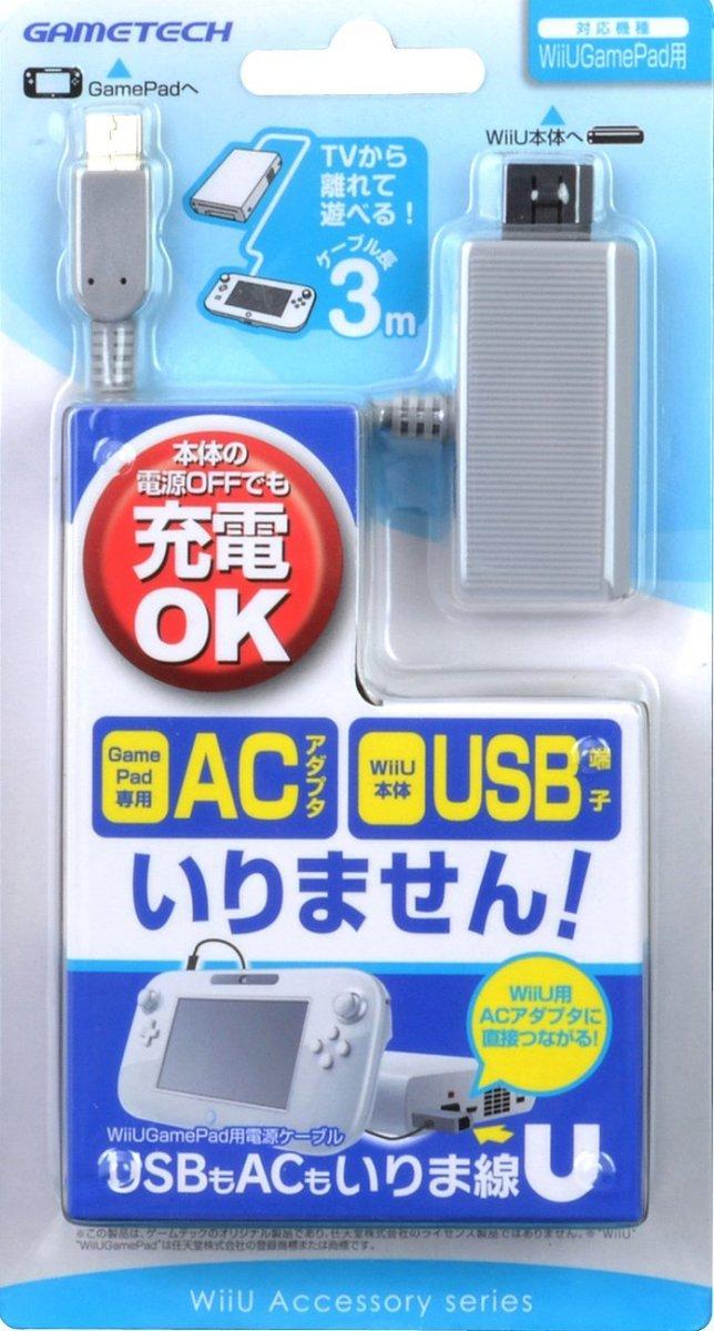 ゲームテック USBもACもいりま線U UK1632の商品画像|ナビ