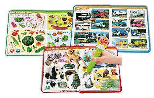 セガトイズ アンパンマン おしゃべり ものしり図鑑セットの商品画像|ナビ