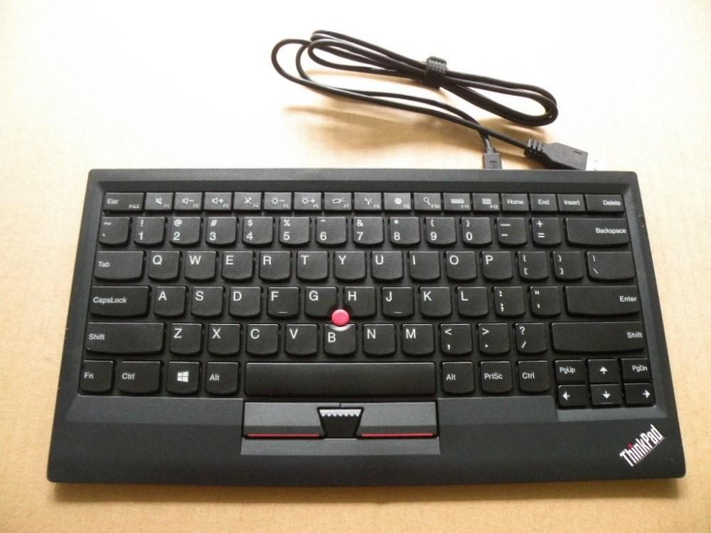 レノボ ThinkPad トラックポイント・キーボード(英語)0B47190(ブラック)の商品画像|3