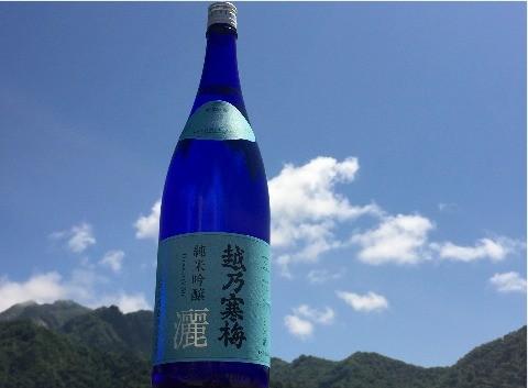 石本酒造 越乃寒梅 灑 純米吟醸 1800mlの商品画像|2