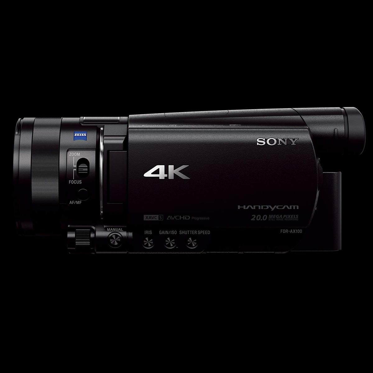 ソニー Handycam FDR-AX100 (ブラック)の商品画像 2