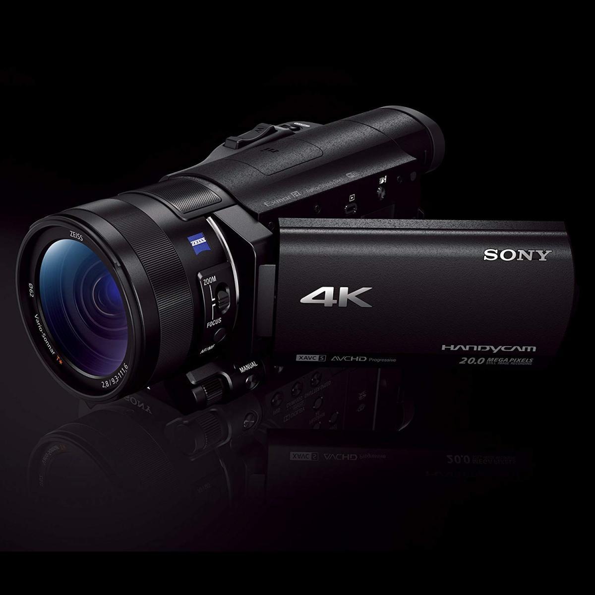 ソニー Handycam FDR-AX100 (ブラック)の商品画像 4