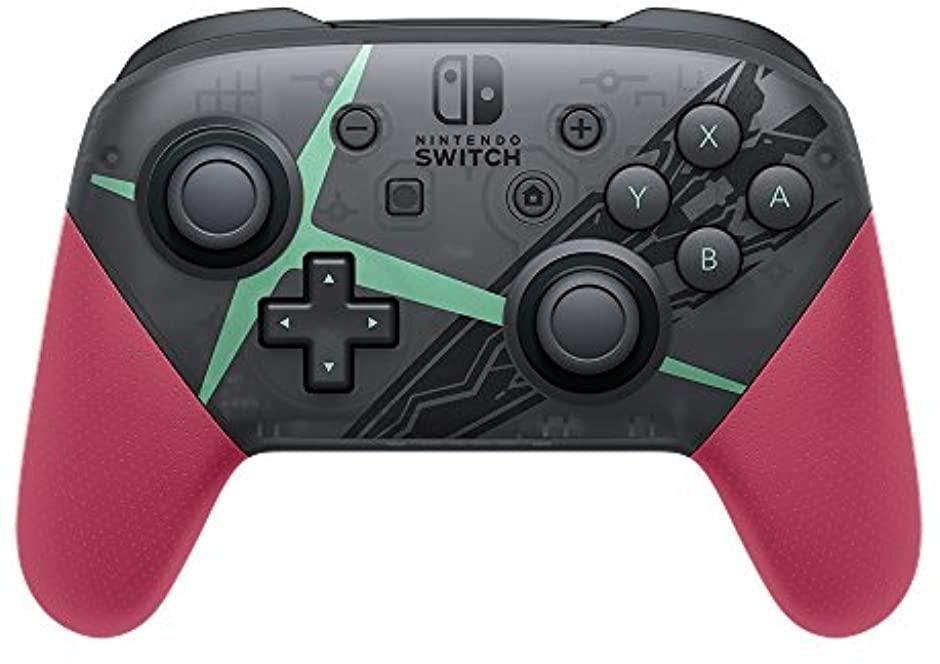 任天堂 Nintendo Switch Proコントローラー Xenoblade2エディションの商品画像|2