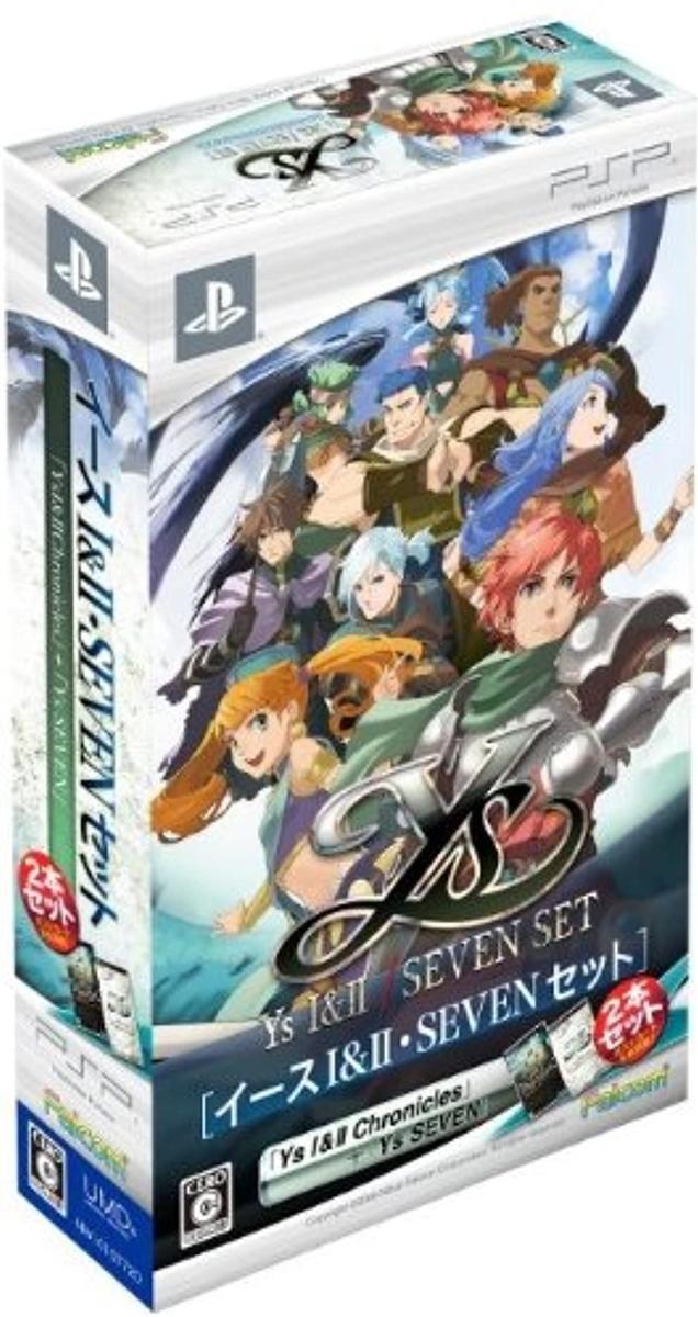 【PSP】日本ファルコム イースI&II・SEVENセットの商品画像|ナビ