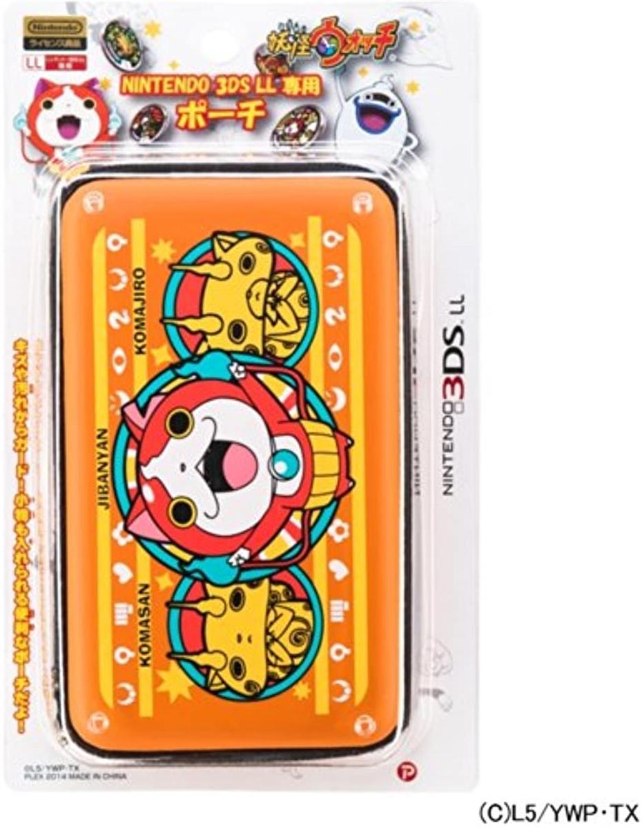 プレックス 妖怪ウォッチ NINTENDO 3DS LL専用 ポーチ ジバニャンVer.の商品画像|ナビ