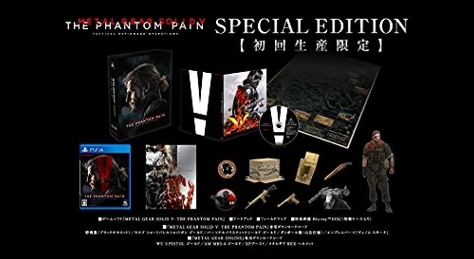 【PS4】コナミデジタルエンタテインメント メタルギアソリッドV ファントムペイン [SPECIAL EDITION]の商品画像|2