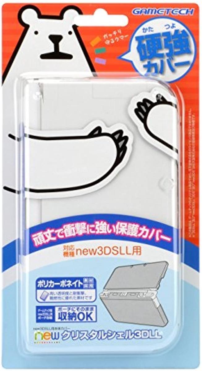 ゲームテック new クリスタルシェル3DLLの商品画像|ナビ