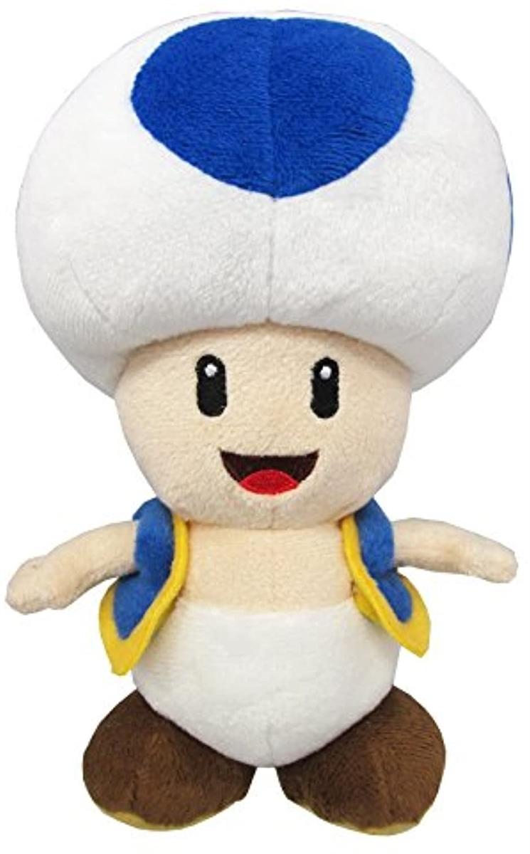 スーパーマリオ オールスターコレクション ぬいぐるみ S (あおキノピオ) AC31の商品画像|ナビ