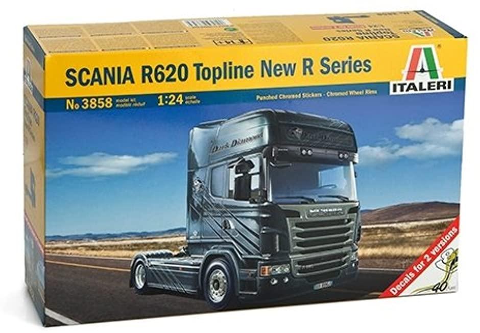 スカニア R620 トップライン 新型Rシリーズ トラクターヘッド (1/24スケール IT3858)の商品画像|ナビ