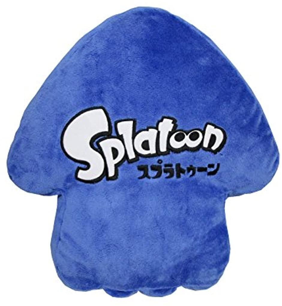 スプラトゥーン クッション イカ(ブルー) 200150の商品画像|ナビ